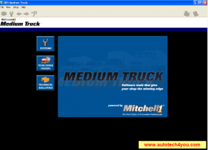 Mitchell On Demand5 Medium Truck