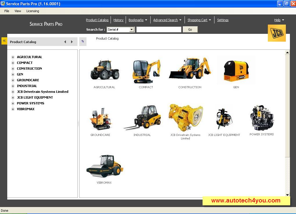JCB Service Parts