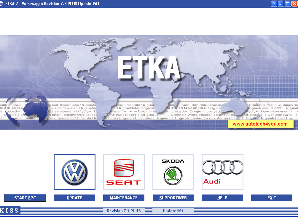 ETKA spare parts 7.4