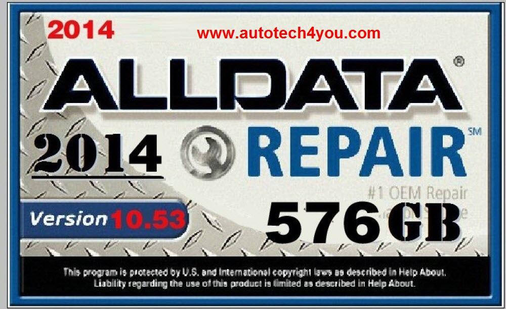 2014 newest alldata 10.53