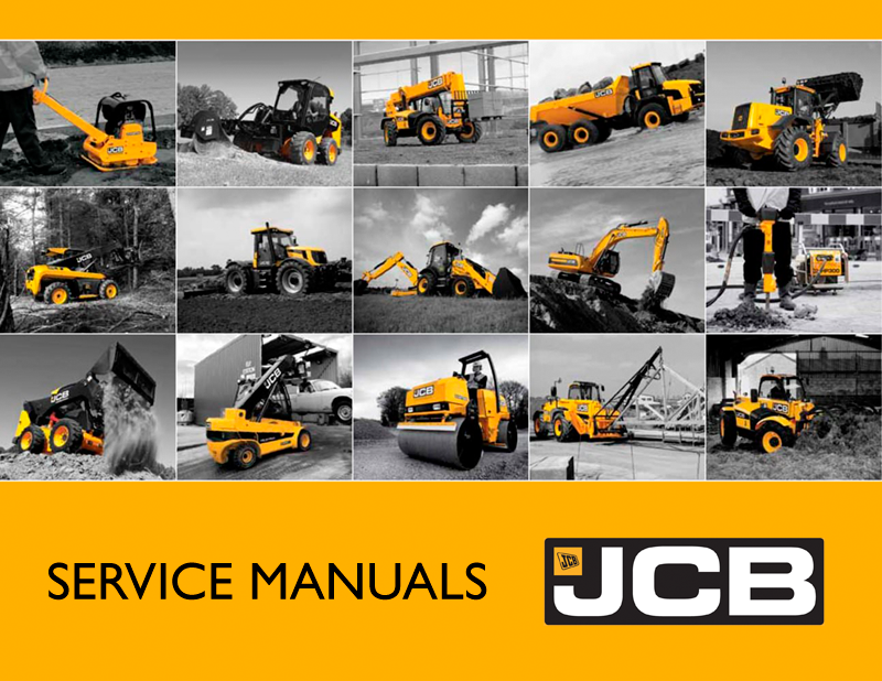 JCB Compact Service Manuals