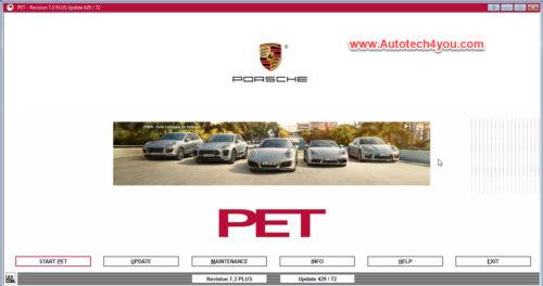 Porsche PET 8 Spare Parts Catalog