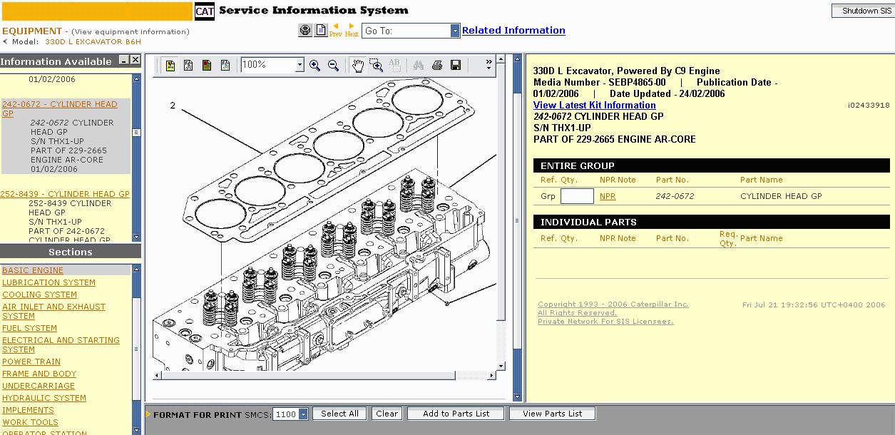 cat electronic catalog