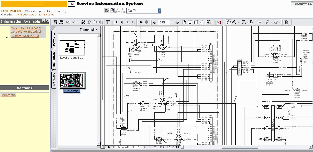 cat wiring diagram