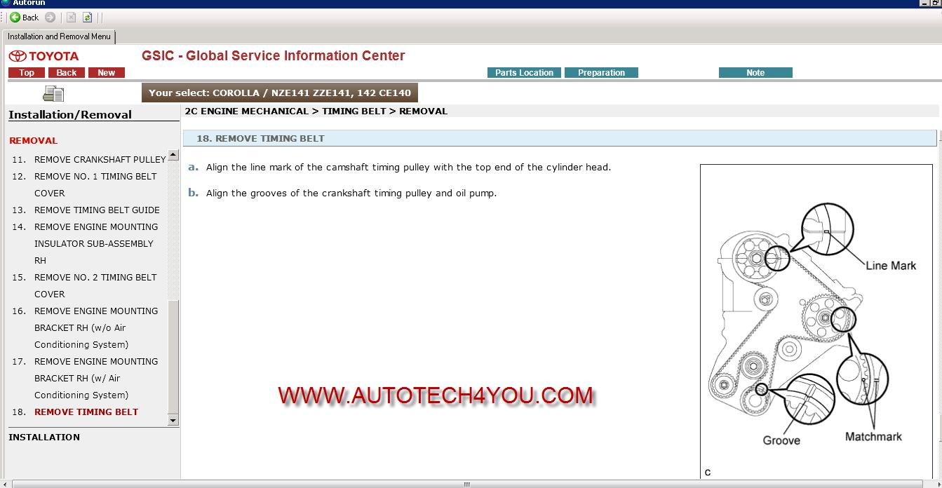 TOYOTA workshop manual