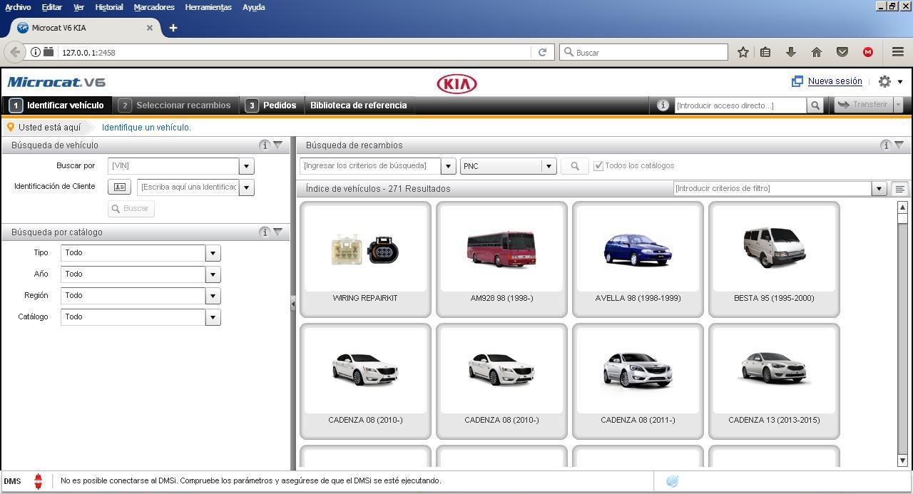 Kia v6 new interface