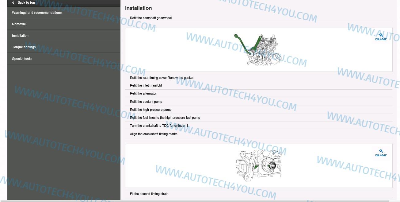 HaynesPro trucks Repair manuals