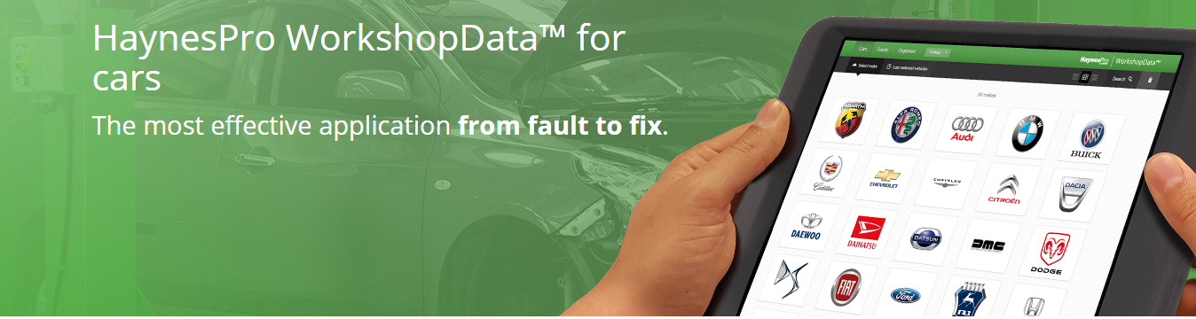 HaynesPro repair data
