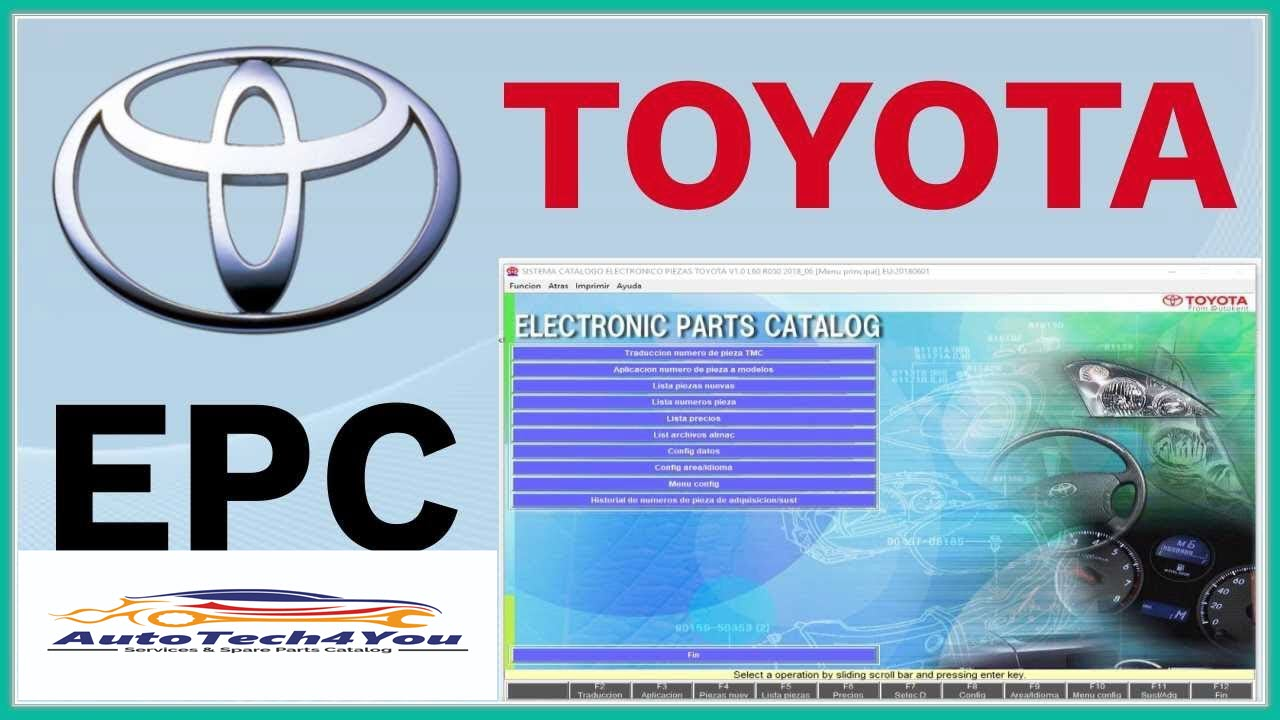 Toyota electronic parts catalog