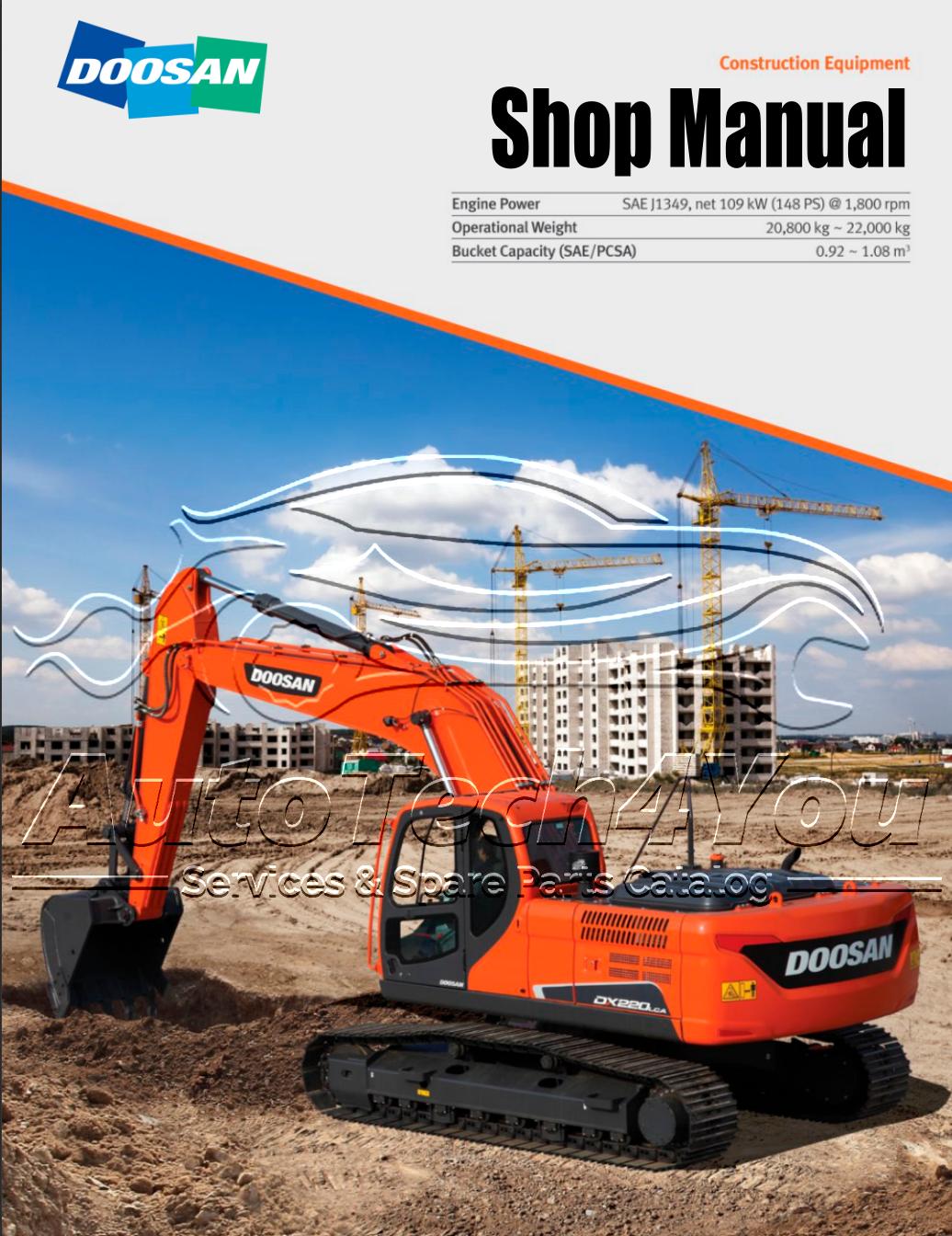 DOOSAN shop Manual