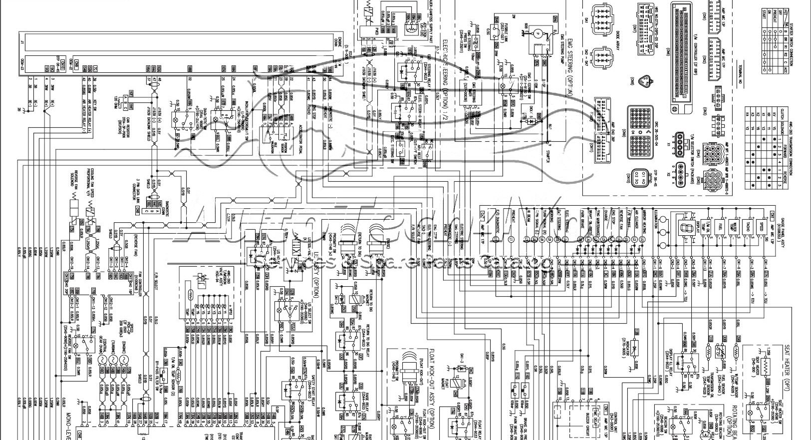 DOOSAN wiring Diagram