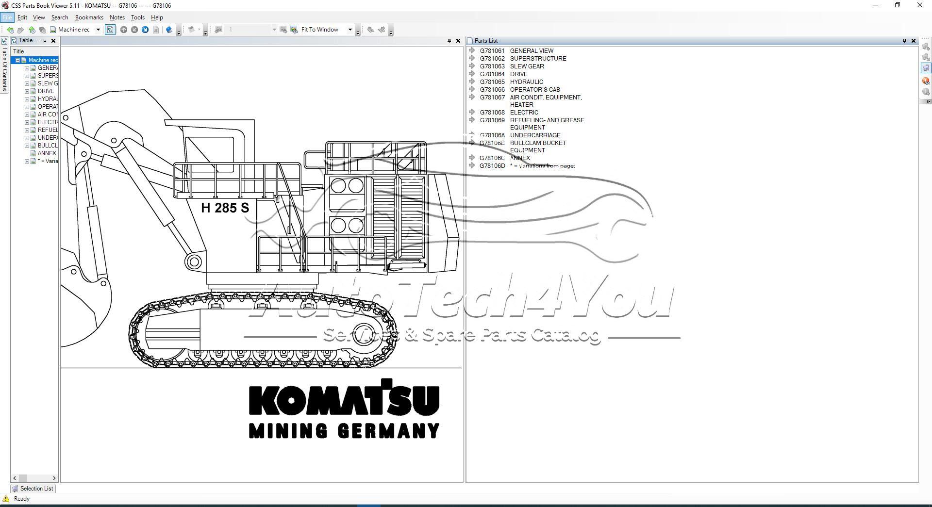 Komatsu Construction