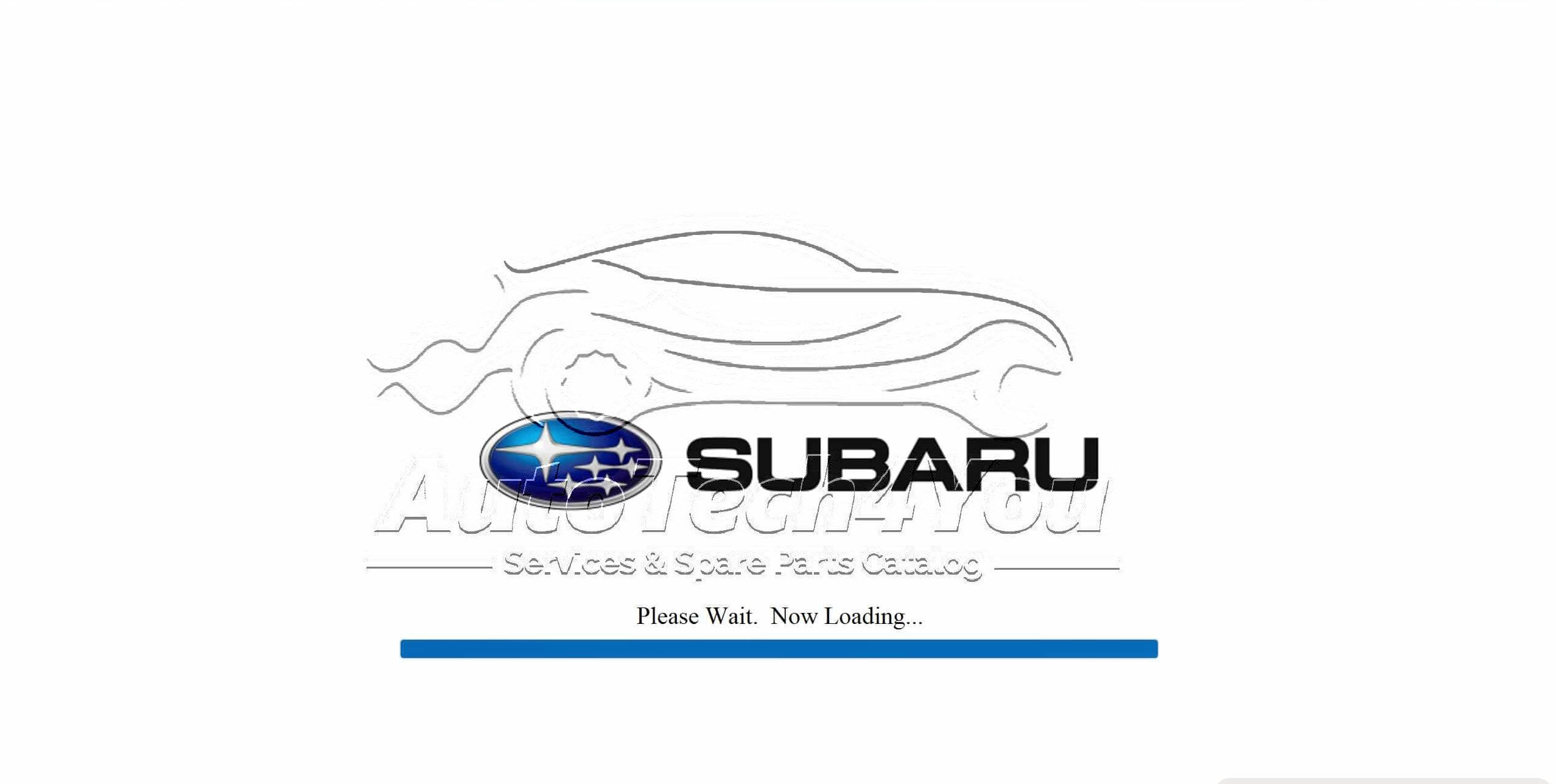 SUbaru Parts catalog