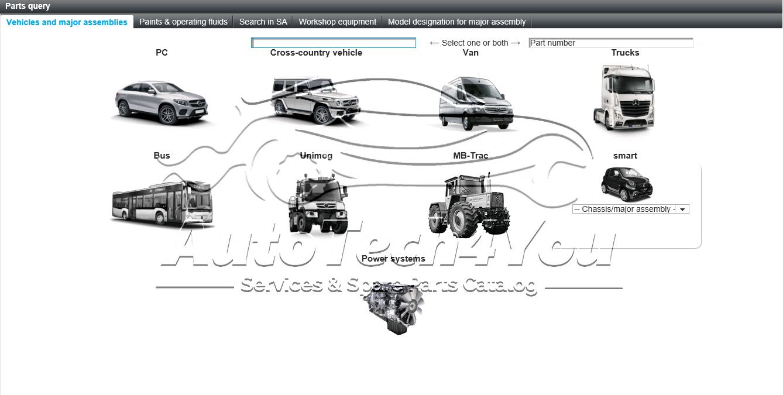 Mercedes Catalog