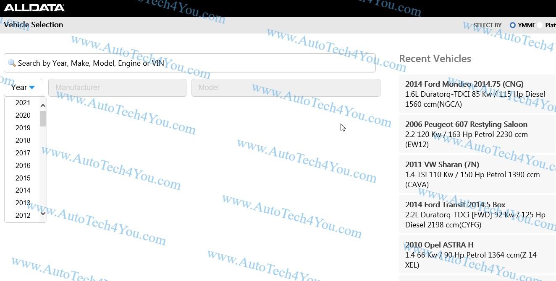 Alldata online Europe