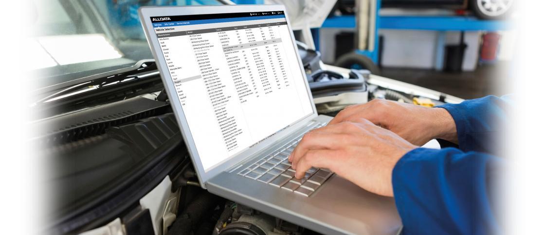 Alldata offline workshop and repair Manual