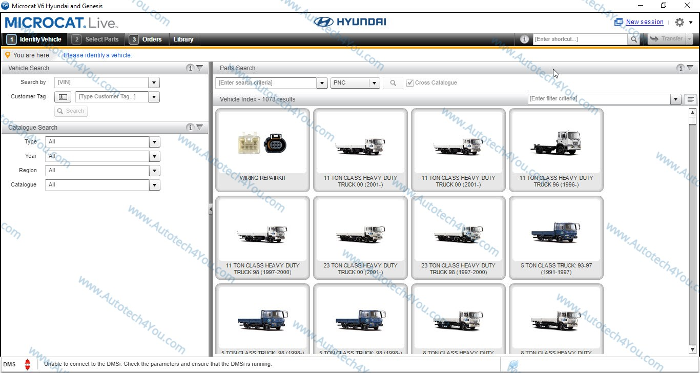 Hyundai Parts Catalog