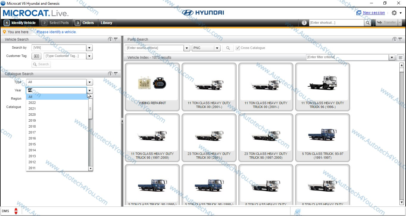 Hyundai Microcat EPC