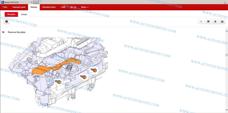 Renault Impact Part Diagram