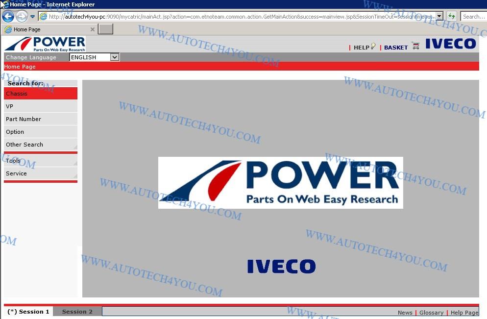 Iveco power EPC