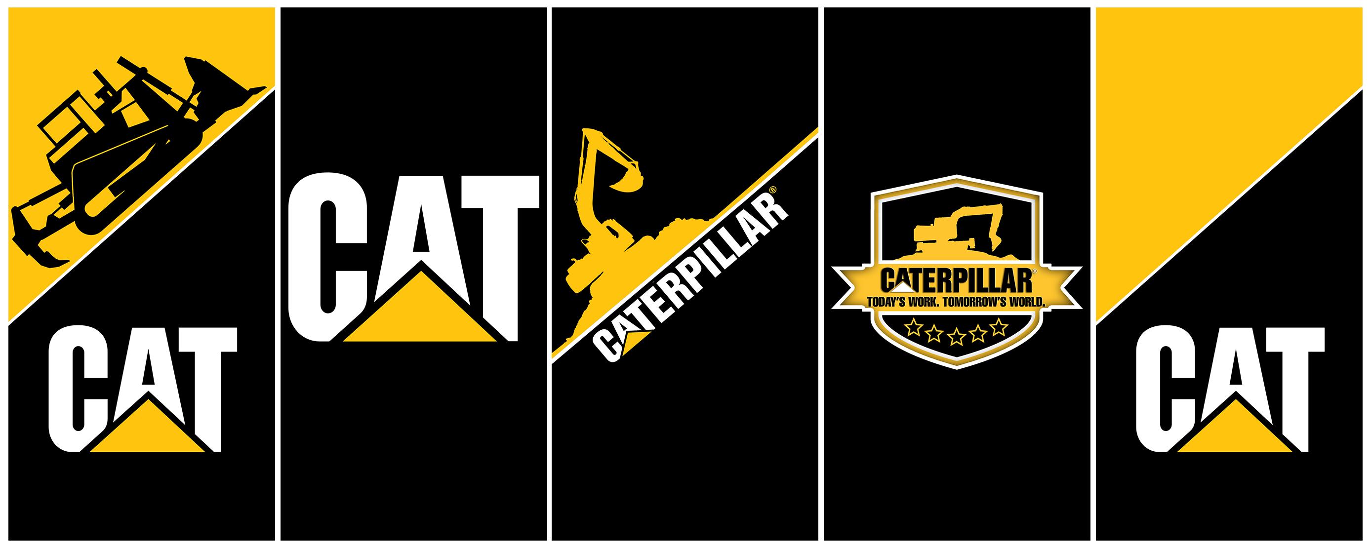 CAT heavy vehicle comapny Logo
